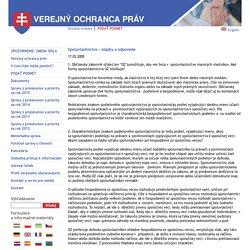 www.vop.gov.sk - Verejný ochranca práv : Spoluvlastníctvo - otázky a odpovede