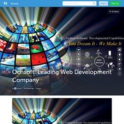 Ochsoft: Leading Web Development Company (with image) · ochsoft