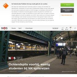 Ochtendspits voorbij, weinig studenten bij NK spitsreizen