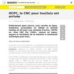 OCPC, la CNC pour tou(te)s est arrivée