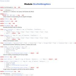 OcsfmlGraphics