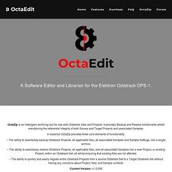 Octatrack Software Editor