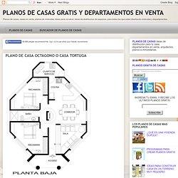 PLANO DE CASA OCTAGONO O CASA TORTUGA : PLANOS DE CASAS GRATIS Y DEPARTAMENTOS EN VENTA