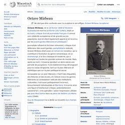 Octave Mirbeau