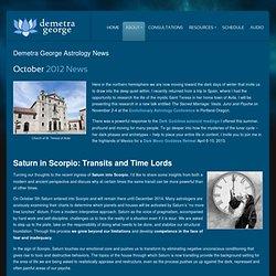 October 2012 News