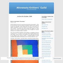 Minnesota Knitters' Guild