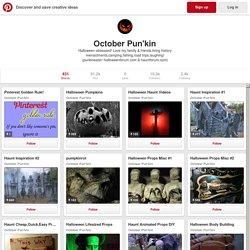 October Pun'kin on Pinterest