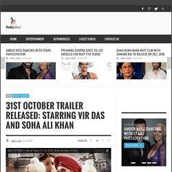 31st October Trailer Released: Starring Vir Das And Soha Ali Khan