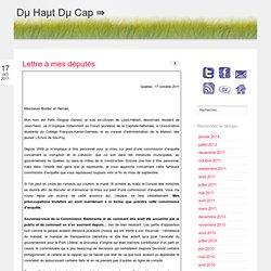 octobre | 2011 | Du Haut Du Cap