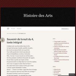 octobre « 2012 « Histoire des Arts « Page 2
