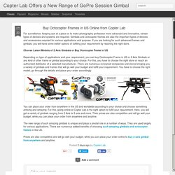 Buy Octocopter Frames in US Online from Copter Lab