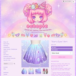 """""""Starry Eyes"""" Skirt · octopie · Online Store Powered by Storenvy"""