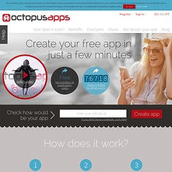 Home - OctopusApps. Crea, diseña y genera tu app gratis para iPhone, iPad, Android, Tablets, Windows Phone, html5.