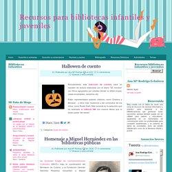 Recursos para bibliotecas infantiles y juveniles: octubre 2010