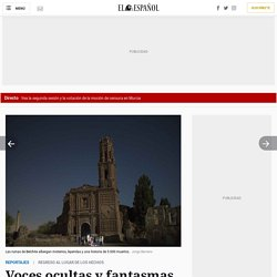 Voces ocultas y fantasmas en Belchite: viaje entre las ruinas de la masacre