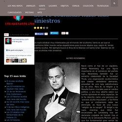 Los 10 ocultistas nazis más siniestros
