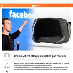 Oculus VR est attaqué en justice par Zenimax