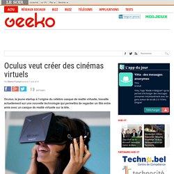 Oculus veut créer des cinémas virtuels