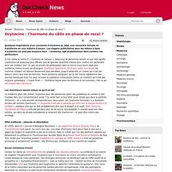 Ocytocine : l'hormone du câlin en phase de recul ?