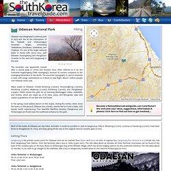 Odaesan National Park - Hiking in South Korea