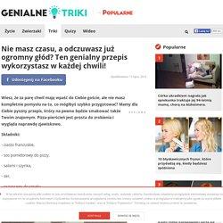 Nie masz czasu, a odczuwasz już ogromny głód? Ten genialny przepis wykorzystasz w każdej chwili! - popularne.pl