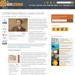 5 Odd Facts About Lewis Carroll