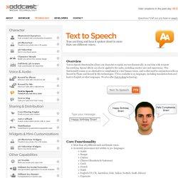 Oddcast - Text to Speech