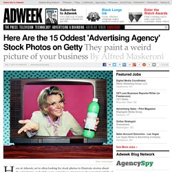 Here Are the 15 Oddest 'Advertising Agency' Stock Photos on Getty