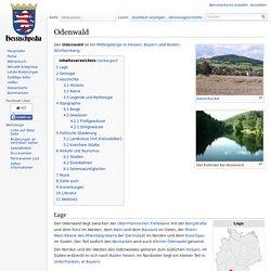 Odenwald – Hessischpedia