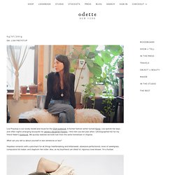 Odette New York - Odette New York Blog