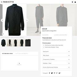 Odeur Asymmetric Long Shirt - Wok-store
