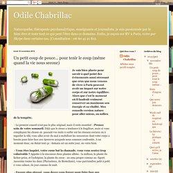 Odile Chabrillac: Un petit coup de pouce... pour tenir le coup (même quand la vie nous secoue)