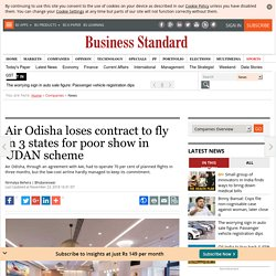 Air Odisha loses contract to fly in 3 states for poor show in UDAN scheme