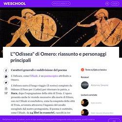 """L'""""Odissea"""" di Omero: sintesi della trama, personaggi, commento"""