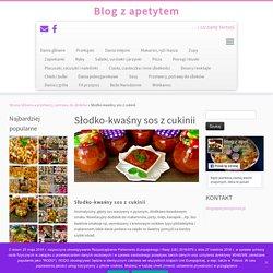 Słodko-kwaśny sos z cukinii - Blog z apetytem