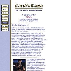 Odo's Biography