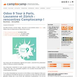 Odoo 9 Tour 2015 : rencontrez Camptocamp !