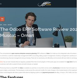 The Odoo ERP Software Review 2021 - Muscat - Oman