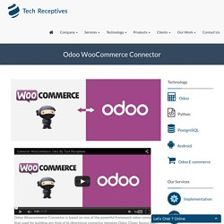 Odoo Woo Commerce Connector