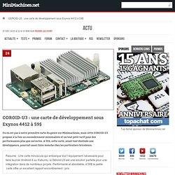 ODROID-U3 : une carte de développement sous Exynos 4412 à 59$