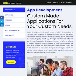 Mobile App Development Company India - Iphone, Android & Web Apps
