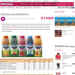 Odwalla Juice Breakdown