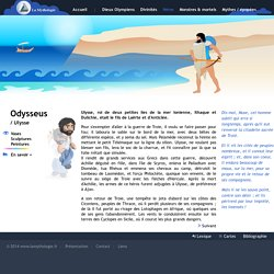 Odyseus(Ulysse) - Mythologie Grecque