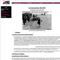 L'odyssée du cinéma : Le Néoréalisme italien