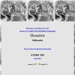 Homère, Odyssée, Chant 12 (traduction française)