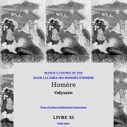 Homère, Odyssée, Chant 11 (traduction française)