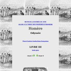 Sacrifice en l'honneur d'Athéna- Homère, Odyssée, III, 418-472
