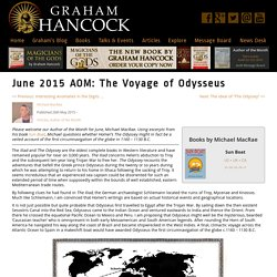 The Voyage of Odysseus - Graham Hancock Official Website