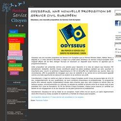 Odysseus, une nouvelle proposition de Service Civil Européen