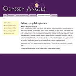 Odyssey Angels Inspiration
